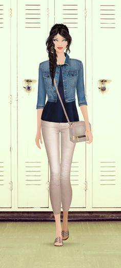 Beverly Hills High School Student