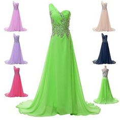Beaded Prom Long Evening Masquerade Ball Gown Dresses Plus Size 2-4-6-8-10-12-14
