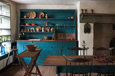 Las cocinas de estilo rústico - http://www.decorationtrend.com/bedroom/las-cocinas-de-estilo-rustico/