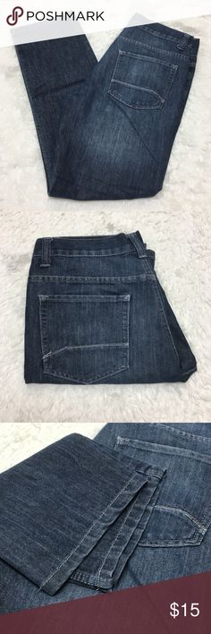 PD&C Straight Leg Mens Jeans 32x32 🔘Description: PD&C Straight Leg Mens Jeans 32x32 good used condition dark wash   🔘Measurements:   Hip to Hip: 16 inches               Inseam: 30 inches                                                        Inventory: F   If you have any questions please feel free to let me know!                                Thanks for stopping by! Jeans Straight