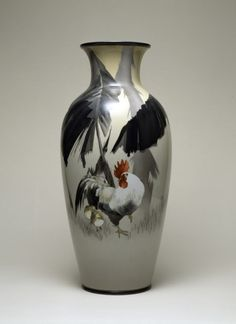 Vase with Rooster among Banana Plants · The Walters Art Museum · Works of Art