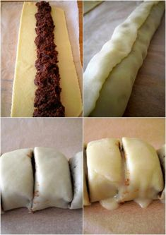 linecké koláčiky ....super nápad...!!!!! Dessert Recipes, Desserts, Biscotti, Dairy, Punk, Cheese, Ethnic Recipes, Basket, Tailgate Desserts