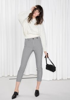 & Other Stories | Gingham Trousers
