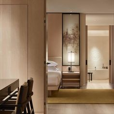 The Park Hyatt Bangkok encapsulates a warm residential quality and a refined sense of place. Modern, clean lines are balanced with soft textures. Traditional Thai craft influences are reinterpreted to create a merging of cultures and a compelling international style; in the guestrooms, French limestone is carved with a subtle lotus flower motif. #parkhyattbangkok #yabupushelberg #ypprojects #hoteldesign #interiordesign #customfurnishings #subtlety #craft