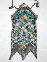 Mesh Purses Whiting & Davis    Bird Mandalian Purse Vintage Handbags