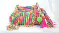 Bucket Bag, Elsa, Bags, Fashion, Tejidos, Totes, Purses, Fashion Styles, Pouch Bag