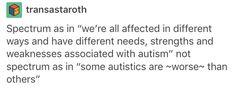 Asd, autism, actuallyautistic, ableism