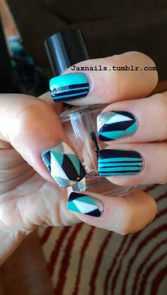 Various Shapes Nails Art