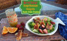 Berry Salad with Orange Marmalade Vinaigrette & Monte Cristo Croutons -  thepaintedapron.com