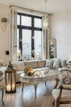 Shabby chic is an absolutely enchanting decor style, and today I'd like to share shabby chic living room decor ideas. Beautiful pastels or white living rooms. Shabby Chic Living Room, Shabby Chic Cottage, Shabby Chic Homes, Shabby Chic Furniture, Shabby Chic Decor, Living Room Decor, Living Rooms, Small Furniture, French Decor