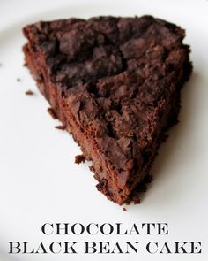 Auntie Bethany - The Best Gluten Free: Sugar Free/Gluten Free/Vegan Black Bean Cake