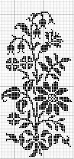 Incredible site of almost 300 vintage charts for cross stitch, crochet and knit patterns.  Isabel Gancedo