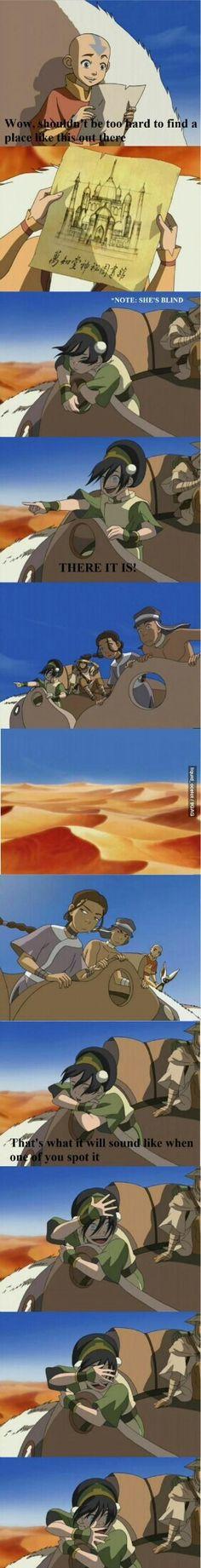 Avatar: The Last Airbender - Aang, Toph, Sokka and Katara