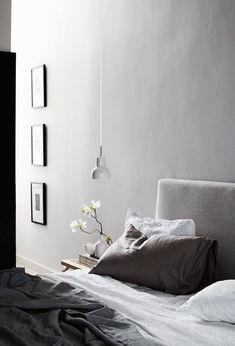 U0027Shades Of Greyu0027 Bedroom | Schlafzimmer In Grautönen. #bedroom  #interiordesign #