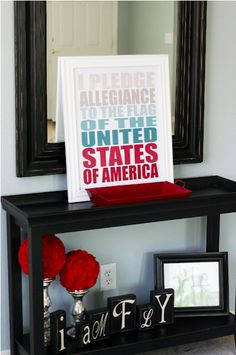 Free patriotic printables great for 4th of July party