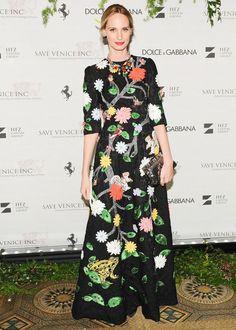 Lauren Santo Domingo in Dolce & Gabbana at the Save Venice gala.