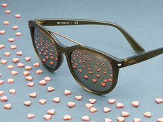 Take a heart or keep your eye on a few with Vogue Eyewear's Sweet Side Collection of sunglasses.
