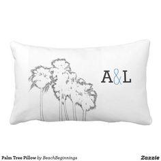 Palm Tree Pillow