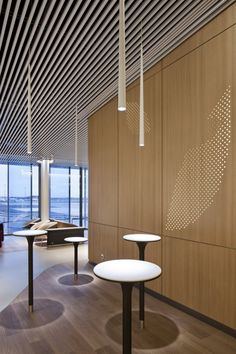 Brandimage and Noé Duchaufour- Lawrance have designed the new Air France business lounge at Paris-Charles de Gaulle airport. This lounge has been conceived as a harmonious pathway, consisting of sections which are con. Air France, Airport Lounge, Office Lounge, Lounge Design, Corporate Interiors, Office Interiors, Commercial Design, Commercial Interiors, Innovation Design