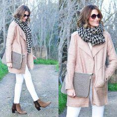 @ConPasoChic luce su nuevo maxi bolso de mano Bissú con un look en tonos pastel ❤ #maxibolso #accesorios #complementos #bags #bolsos #chic #fashion #moda #fashioninspiration #style #outfit #streetstyle