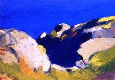 Edward Hopper (1882-1967) Rocks and Sea, 1916/1919
