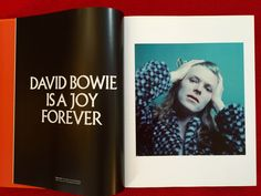 David Bowie is a joy forever ...  Pages from his book IS.  Victoria & Albert exhibition.  #starman #bluejean #ziggy #davidbowie