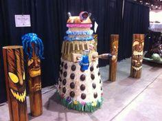 Tiki Dalek Version 2.0:  Nerd Approved
