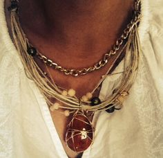 Necklace, cute, handmade, marelle