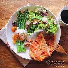 * * brunch♡** * * #brunch#ブランチ#ワンプレート #料理#暮らし#おうちごはん#手作りパン#pizza#food#cooking#onmytable#onthetable#foodphoto#foodpics#foodart#eat#handmade#homemade#homecook#canon#yummy#yum#instapic#instafood#vscocam#vsco#vsco_food#vscofood#delicious