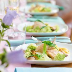 Rezept: Huhn in Riesling - [LIVING AT HOME]