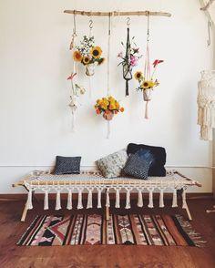Boho Home Bohemian Decor for Summer on Handmade Childhoods: The Blog by Fleur + Dot Fashion Fun DIY Home Food Play http://HandmadeChildhoods.com
