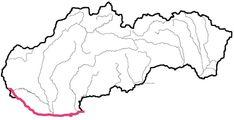 Slepá mapa slovenských riek - Noizz Cookie Cutters