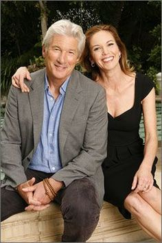 Carrick and Grace Grey. I actually LOVE this. (Richard Gere and Diane Lane)