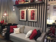 Sala listrada+vermelho london ETNA