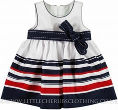 Stripe Dress - MAYORAL 1911