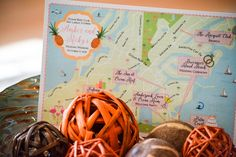 Custom Wedding Invitation Maps by Feathered Heart Prints
