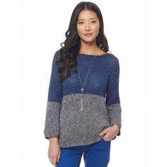 Free Easy Women's Sweater Knit Pattern