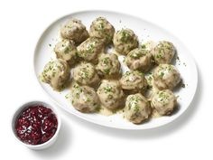 Almost-Famous Swedish Meatballs Recipe : Food Network Kitchens : Food Network - FoodNetwork.com