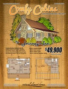 comfy log cabin kits - Mini Log Cabin Kits