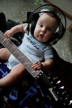 ~You gotta get 'em while they're young.~  Photo by Iza via email #Ibanez #guitar