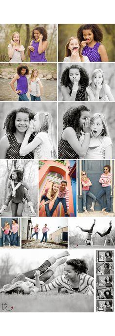 Best Friend Photo Shoot Ideas | Best Friends Photo Shoot