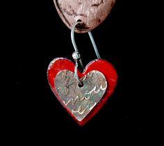 Enamel Red Heart