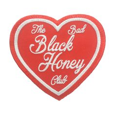 Black Honey - Heart (Red)