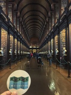 """""""Let's study! We were in the Jedi archives from Start Wars in real life here in . It is filled with of the Library's oldest books so it is home to remarkable treasures of Irish identity. """" 📍 The Long Room Dublin, Real Life, Ireland, Long Room, Archive, College Library, Study, War, Let It Be"""