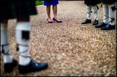 Mother of the Groom plus kilt wearing groomsmen -
