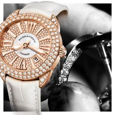 The inverse, a Mother of Pearl centre with Ideal Cut Diamonds set on the exterior with Roman Numerals Ideal Cut Diamond, Roman Numerals, Michael Kors Watch, Centre, Diamonds, White Gold, Pearl, Exterior, Watches