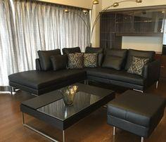 46 個讚,2 則留言 - Instagram 上的 BoConcept_umeda(@boconcept_umeda):「 ✔️カーテンをグレーに変えたのをきっかけに家具一式をモダンにchange ⚫️スタイリングは既存の『ゴールド』⚜️⚜️⚜️を活かしてエレガントに✨✨ #BoConcept梅田店… 」