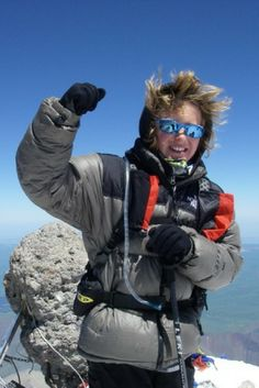 Meet Jordan Romero, the youngest person to climb the seven summits! Top Of The World, Travel Around The World, Around The Worlds, New Travel, Travel Usa, Travel Europe, Travel Pictures, Travel Photos, Monte Everest