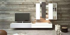 Spectral Ameno TV-Möbel grau & weiß in Wohnlandschaft bei Funkhaus Küchenmeister. Mehr Infos jederzeit auf unserer Website.