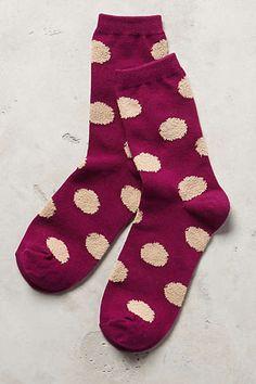 Polka Dot Crew Socks Polka Dot Socks 594b25792c1
